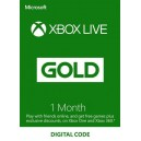 1 Month Xbox Live Gold