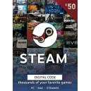 Steam Wallet Gift Card 50 EUR Steam Code