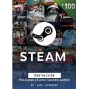 Steam Wallet Gift Card 100 EUR Steam Code